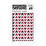 Black and Red Pattern Stamp