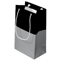 Black and Silver Gift Bag