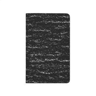Black and Silver Stone Journal