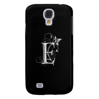 Black and Silver Torta E Monogram Samsung Galaxy S4 Cover