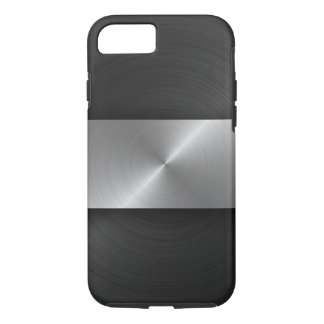 Black And Steel iPhone 7 Case