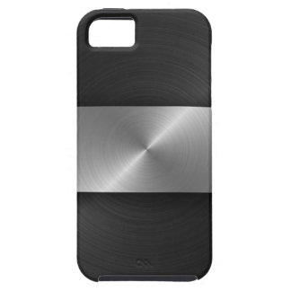 Black And Steel iPhone SE/5/5s Case