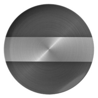Black And Steel Plate