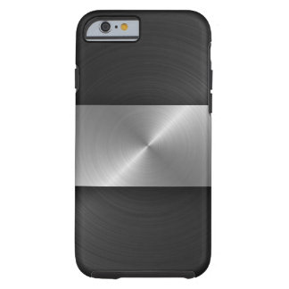 Black And Steel Tough iPhone 6 Case