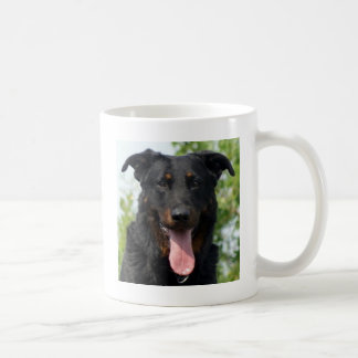 black and tan Beauceron.png Coffee Mug