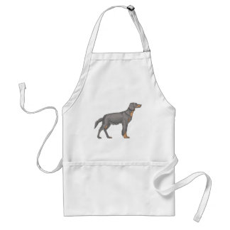 Black And Tan Coonhound Adult Apron