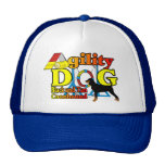 Black_and_Tan_Coonhound Agility Trucker Hat