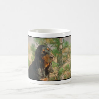 Black and Tan Coonhound Coffee Mug