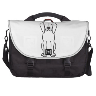 Black and Tan Coonhound Dog Cartoon Commuter Bags
