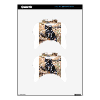 Black and Tan Coonhound Dog Xbox 360 Controller Decal