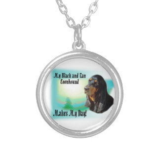 Black and Tan Coonhound Gifts Necklaces