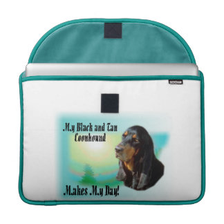 Black and Tan Coonhound Gifts Sleeve For MacBook Pro