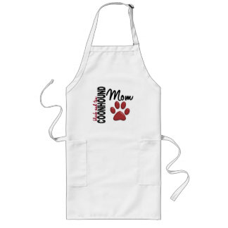 Black And Tan Coonhound Mom 2 Long Apron