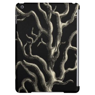 Black and Tan Coral Case For iPad Air