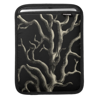 Black and Tan Coral Sleeve For iPads