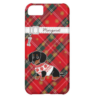 Black and Tan Dachshund Cute Eyes Case For iPhone 5C