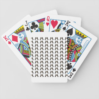 Black and Tan Dachshund Hi Five Bicycle Playing Cards