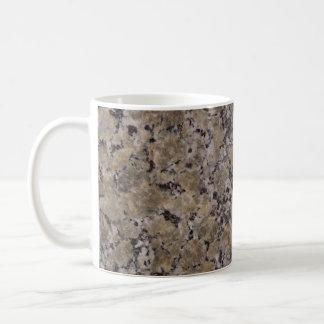 Black and Tan Granite Coffee Mug