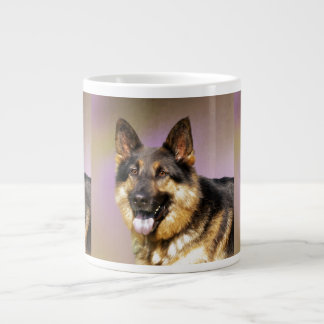 Black and Tan GSD Giant Coffee Mug