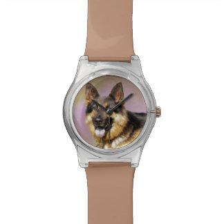 Black and Tan GSD Wristwatch