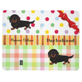 Black and Tan Long Haired Dachshund 1 Journal