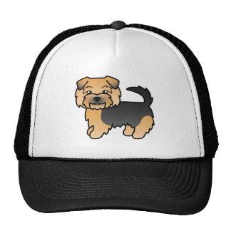 Black And Tan Norfolk Terrier Trucker Hat
