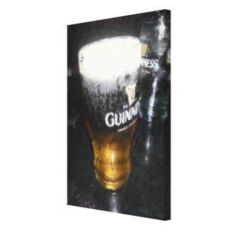 Black and Tan Stretched Canvas Prints