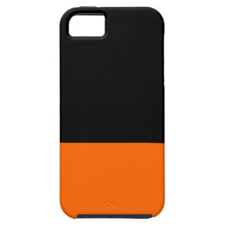Black and Tangerine IPhone 5 Case