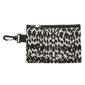 Black and Taupe Stylish Animal Print Accessories Bags
