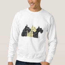 Black and Wheaten Scotties Sweatshirt