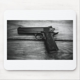 Black and White 1911 Mouse Pad