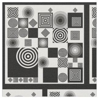Black and White #1 Fabric