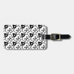 Black and White 1 Luggage Tag