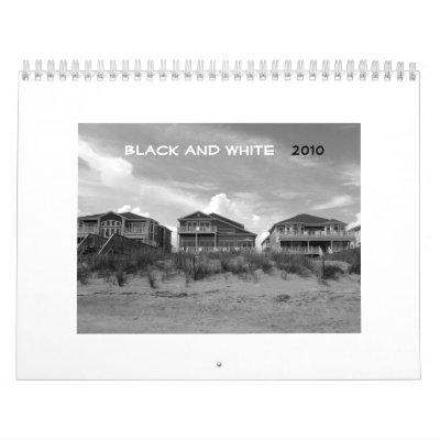 Black and White - 2010 Wall Calendars