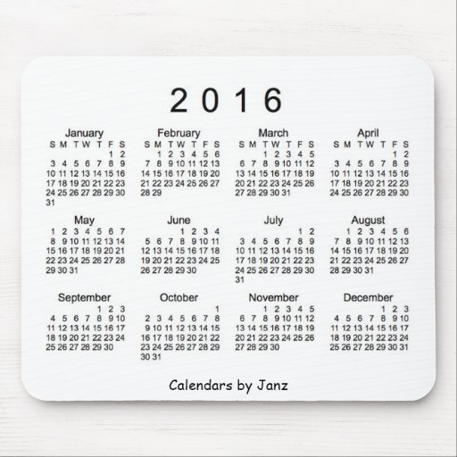 Easter 2016 Calendar with Holidays