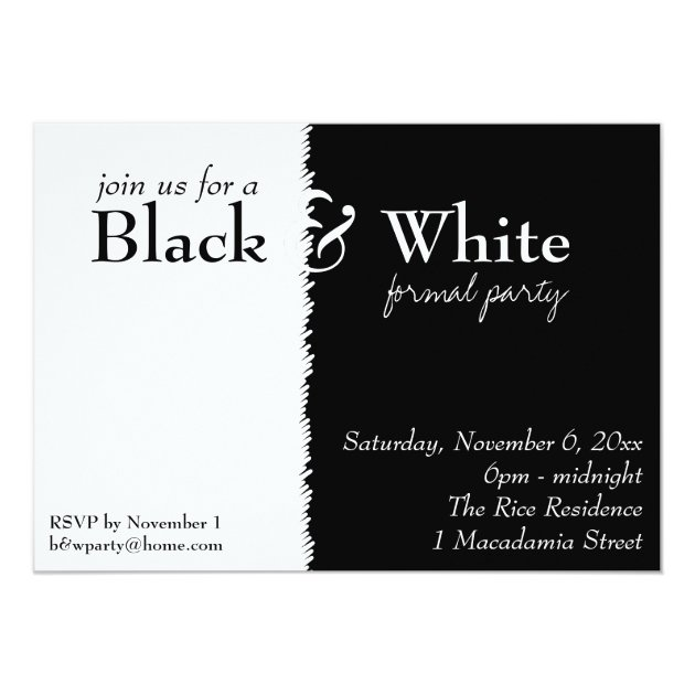 All White Party Invites for great invitation sample