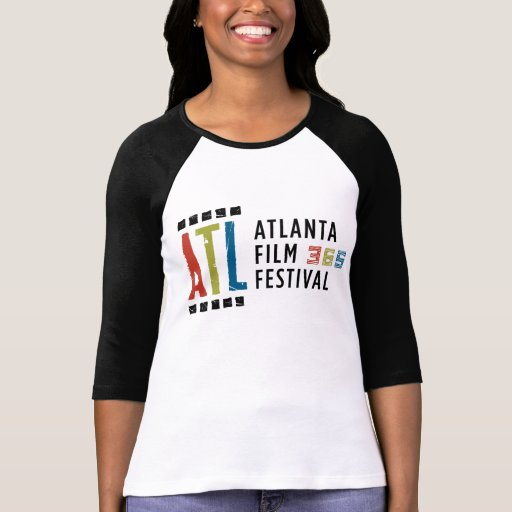 Black and White 3/4 ATLFF365 T-shirt
