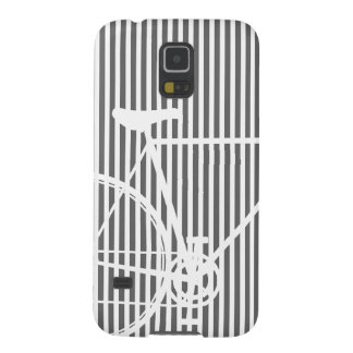 Black and white Abstract Bicycle Case For Galaxy S5