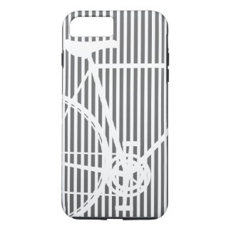 Black and white Abstract Bicycle iPhone 7 Case