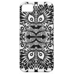 Black And White Abstract Explosion iPhone 5 Covers