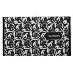 Black and White Abstract iPad Caseable Case iPad Folio Cover