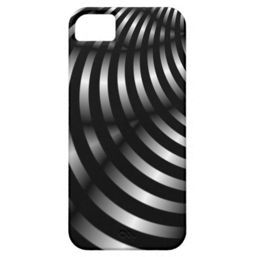 Black and white abstract iphone 5 case