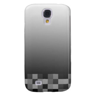 Black and White Abstract Modern Design. Samsung Galaxy S4 Covers