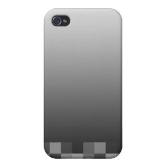 Black and White Abstract Modern Design. iPhone 4 Cover