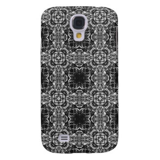 Black And White Abstract Pattern Galaxy S4 Cover
