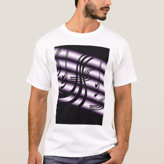 Black And White Abstract T-Shirt