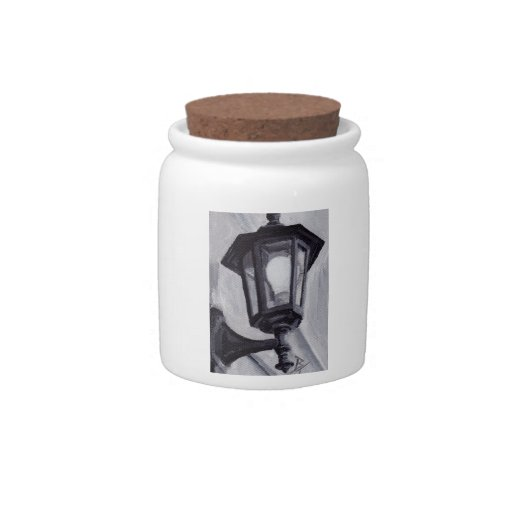Black and White aceo Candy Jars