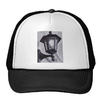 Black and White aceo Hat