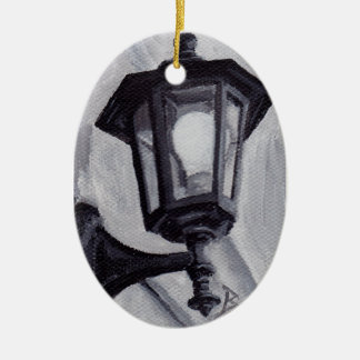 Black and White aceo Ornament