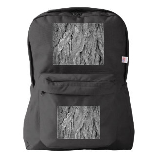Black and White Aged Bark Backpack